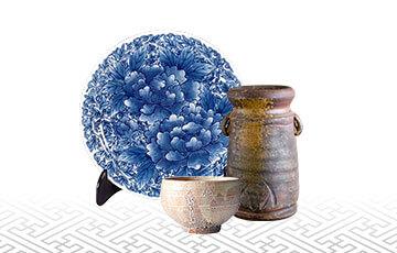 陶器や陶磁器の買取