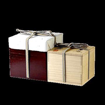 陶器の外箱や付属品の保管